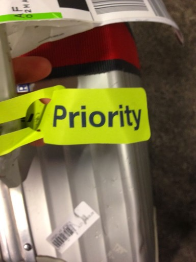 Priority baggagelabel bij Air France
