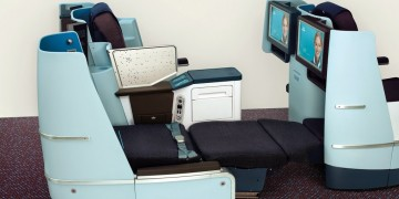 KLM World Business Class modification
