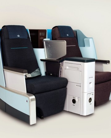 KLM World Business Class modification