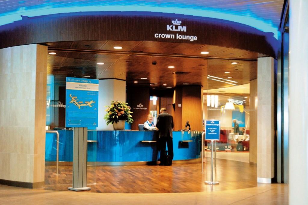 Plannen verbouwing KLM Crown Lounge