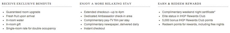 Ambassador Benefits