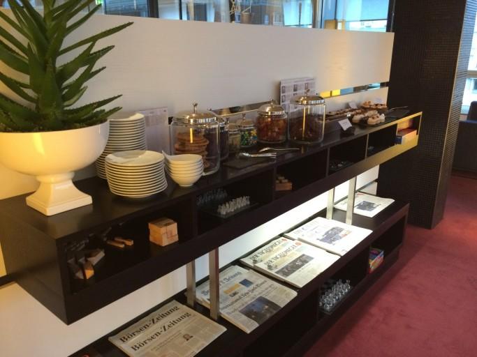 IC Berlin - Club Lounge Treats