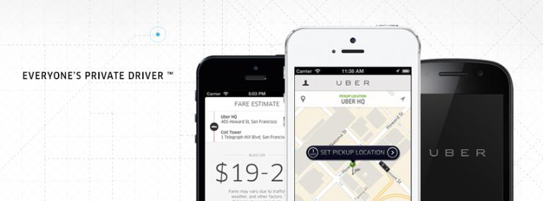 Uber Applicatie
