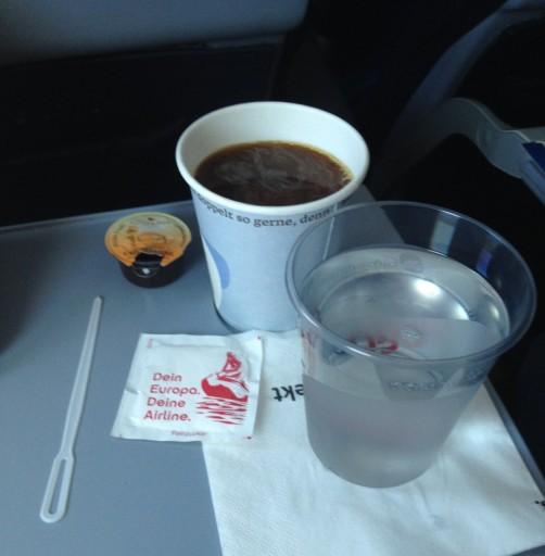 Kop koffie Air Berlin