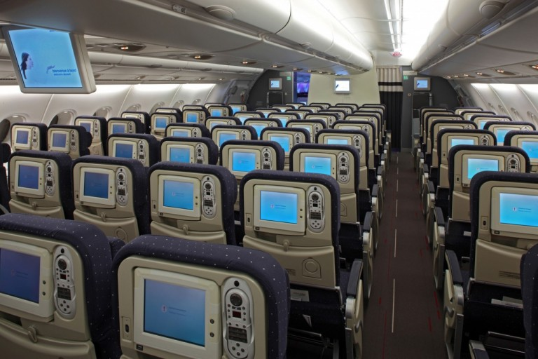 Air France A380 Economy Class