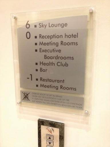 CP BRU Airport - Elevator Floors