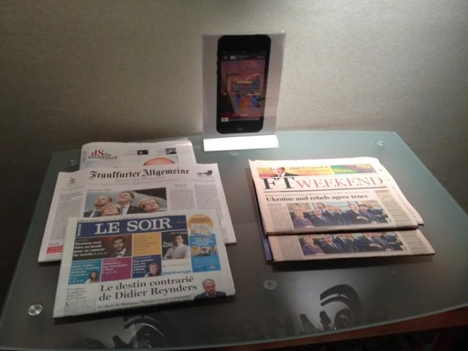 Keuze uit internationale kranten