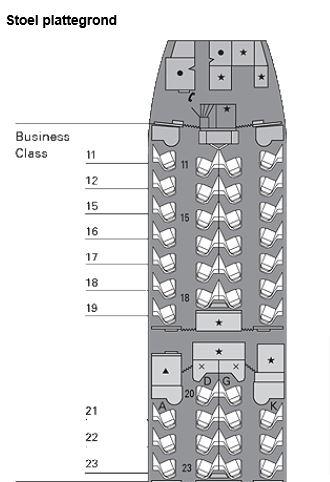 Cathay 777-300 configuratie