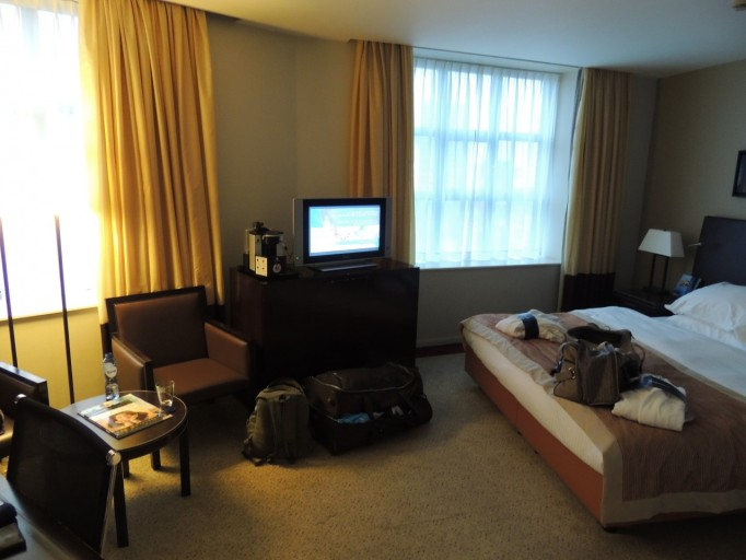 Radisson Blu Astrid Business class kamer