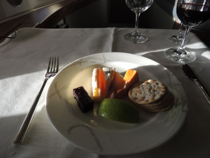 Cathay Pacific First Class diner