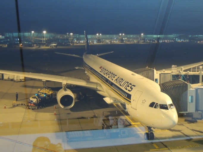 Singapore Airlines Airbus A330 Incheon Airport