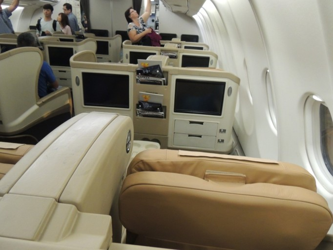 Singapore Airlines A330 Business Class