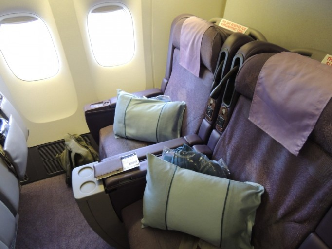 Singapore Airlines Boeing 777 Business Class