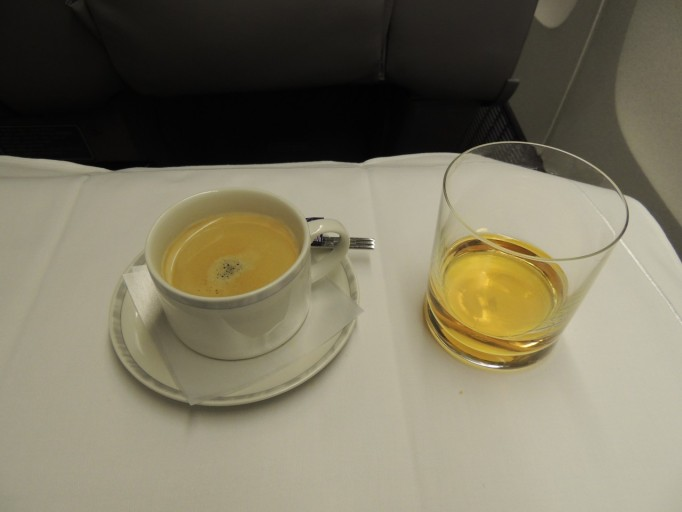 Singapore Airlines koffie