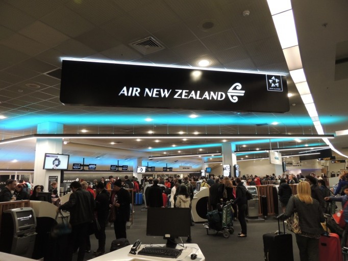 Air New Zealand check in