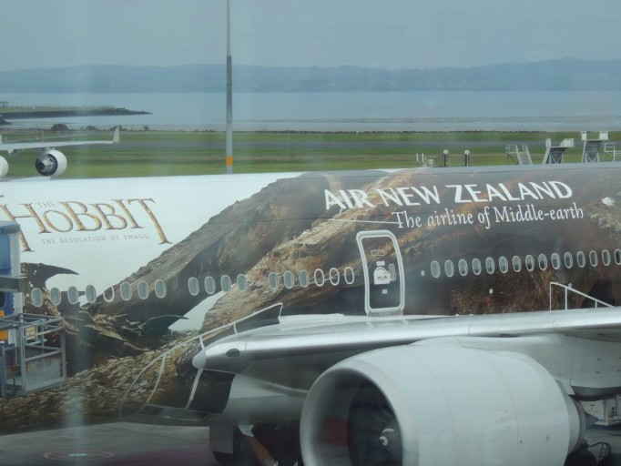Air New Zealand Hobbit-vliegtuig