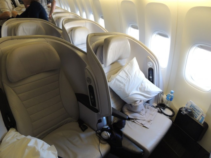 Air New Zealand premium economy spaceseat