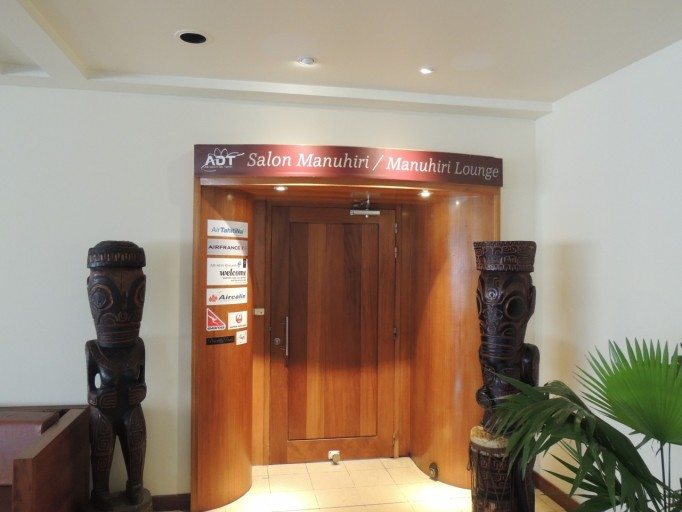 Tahiti Airport business class lounge