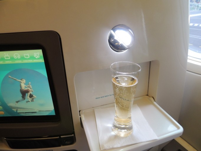 Air New Zealand Boeing 777 business class