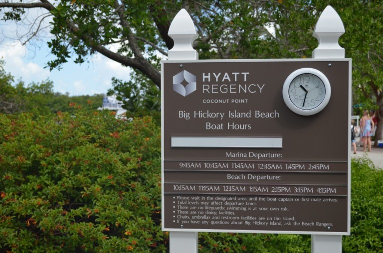 Hyatt Regency Coconut Point Resort - veerdienst