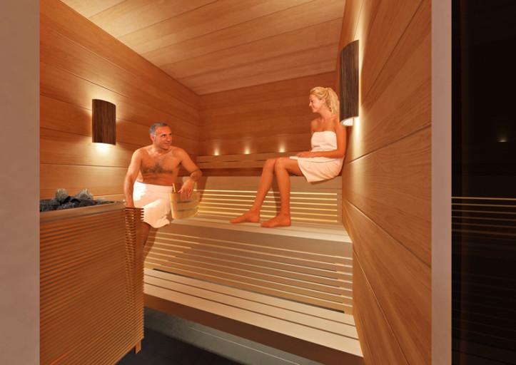 Finnair Sauna