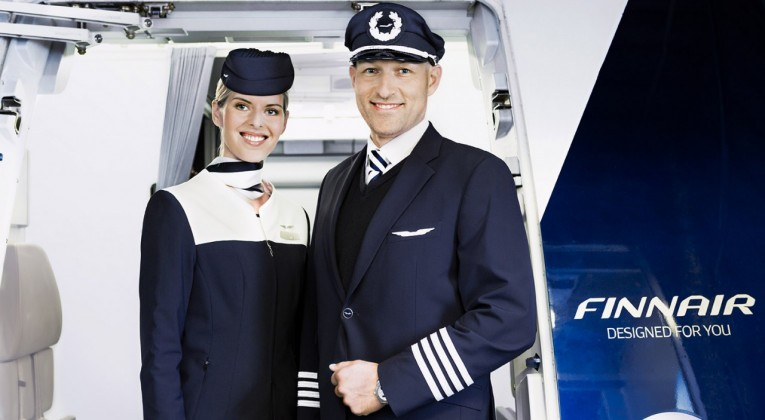Finnair cabin attendant and pilot