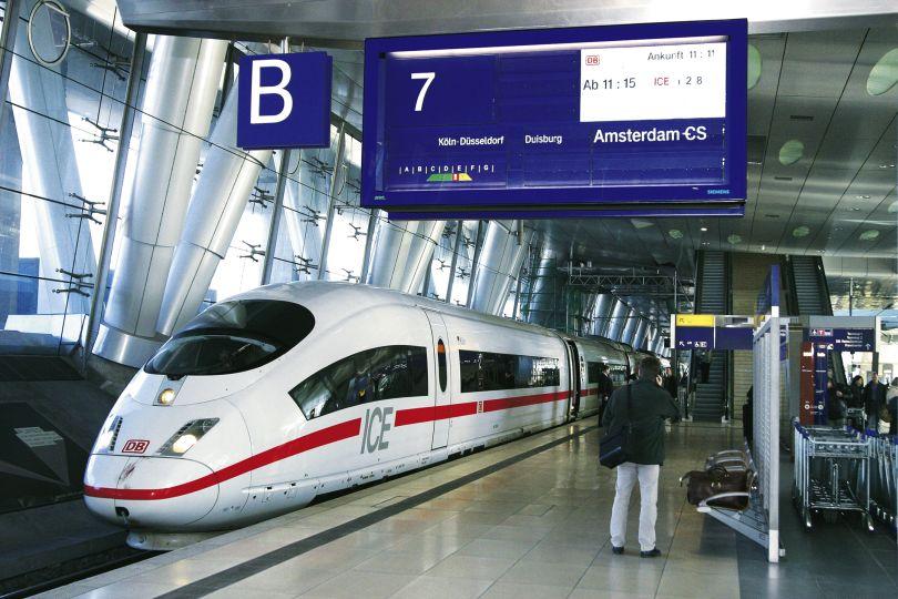 Frankfurt airport station