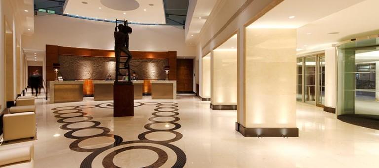 Moderne en stijlvolle lobby