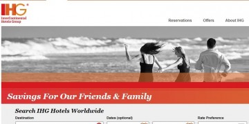 IHG Friends Family Rate