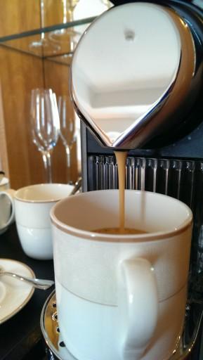 Nespresso koffiezet