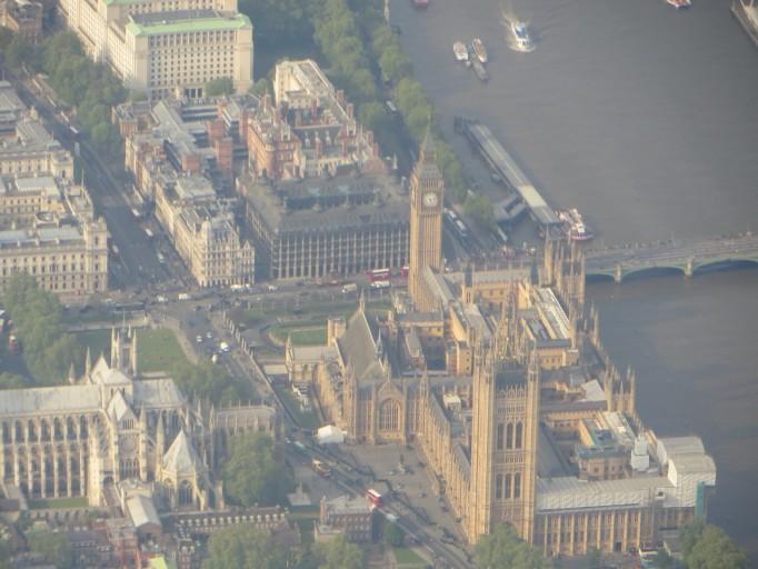 Londen vanuit de lucht