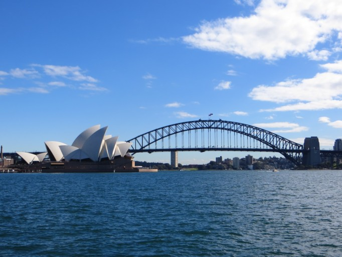 Opera House Harbour Bridge Sydney