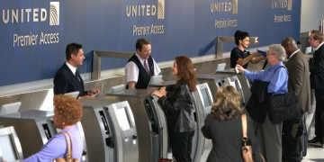 United check-in