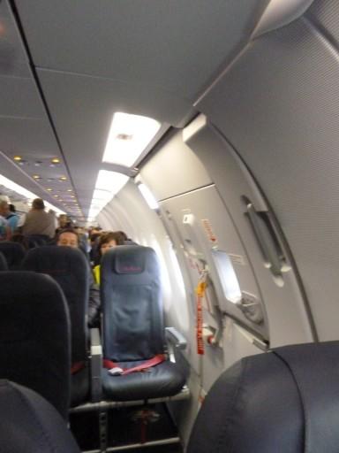 Stoel 9A A321 Air Berlin