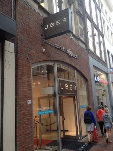 Tijdelijke Uber Store in Amsterdam - InsideFlyer NL