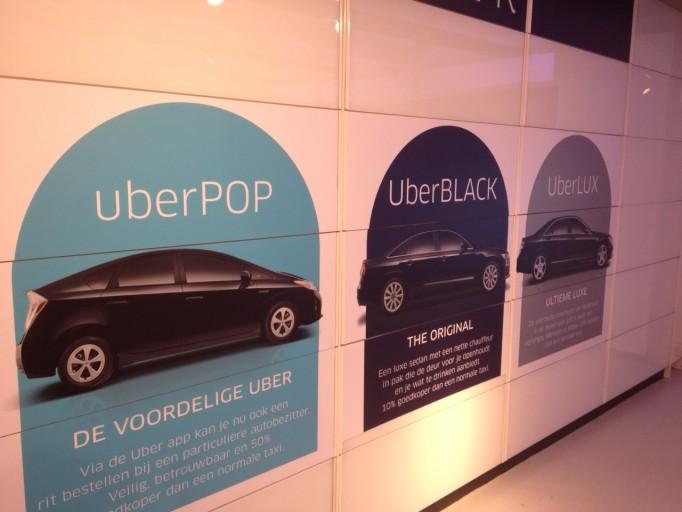 Uber Brandstore Amsterdam Product Uitleg