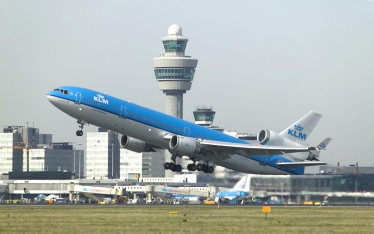 KLM MD11 take off