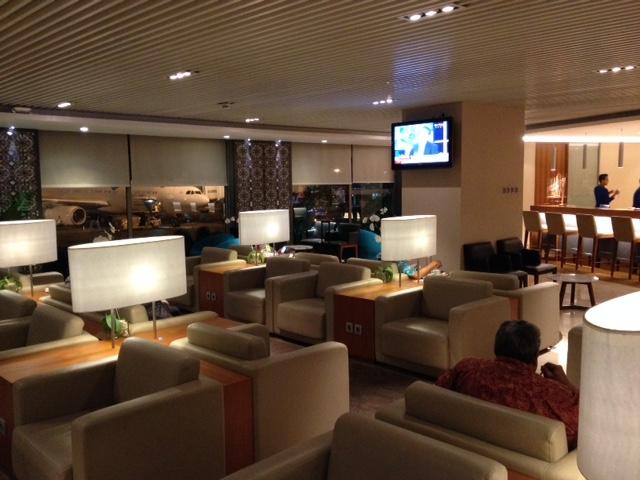 Garuda domestic lounge