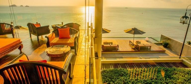 Serene Bar van Intercontinental Hotel Koh Samui - Thailand