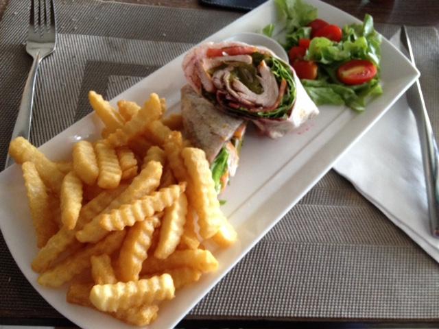 Lunch in het restaurant
