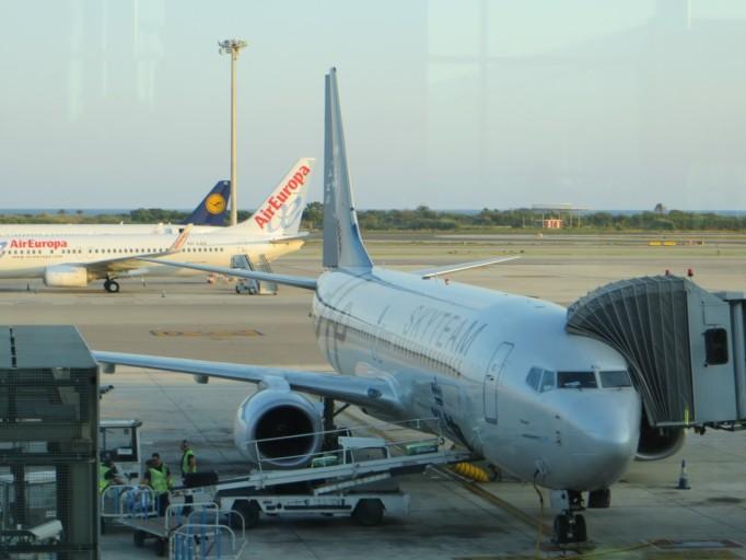 KLM Skyteam Boeing 737