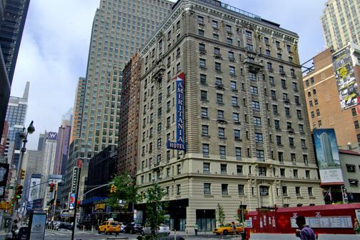 Ik heb persoonlijk veel positieve herinneringen aan het Ameritania hotel, vlakbij Time Square. Hier verblijf ik meestal als ik op bezoek ben in NYC.