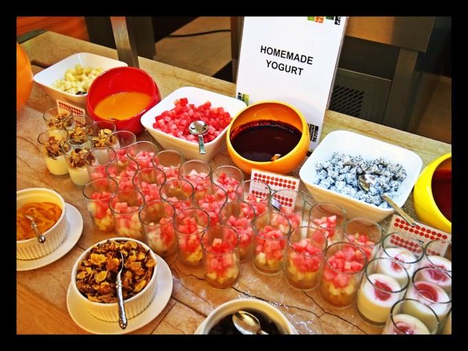 Ontbijt selectie