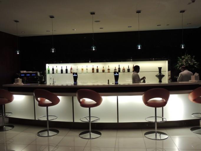 Etihad Abu Dhabi Business class lounge