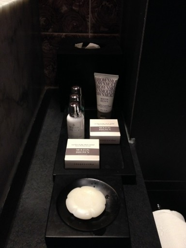 Amenities van Molton Brown