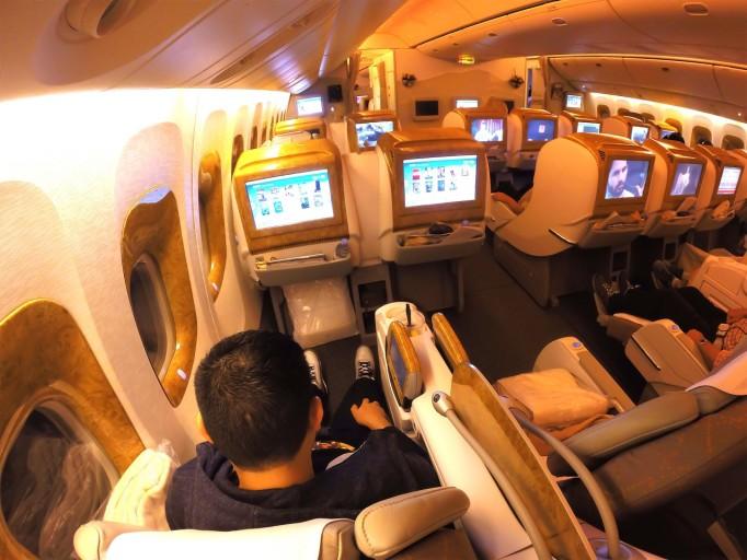 EK 777 C-cabin
