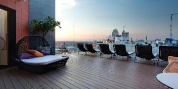 rooftop bar Indigo Madrid