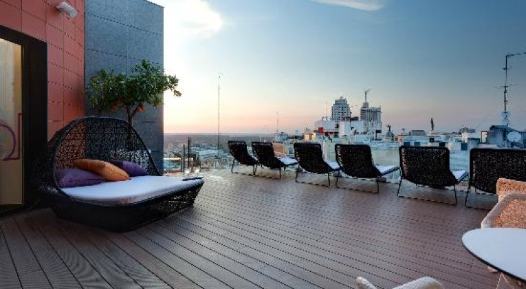 rooftop bar Indigo Madrid