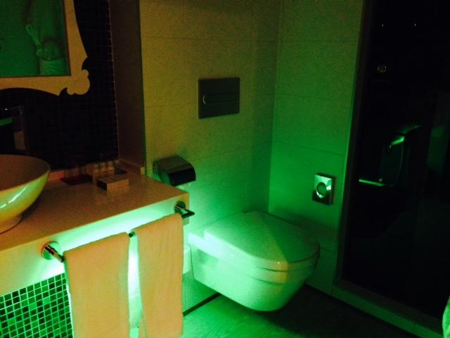 Sfeerverlichting badkamer