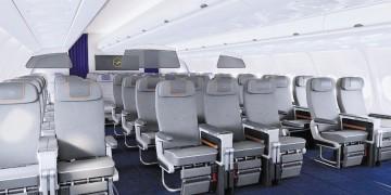 Premium Economy Class cabine